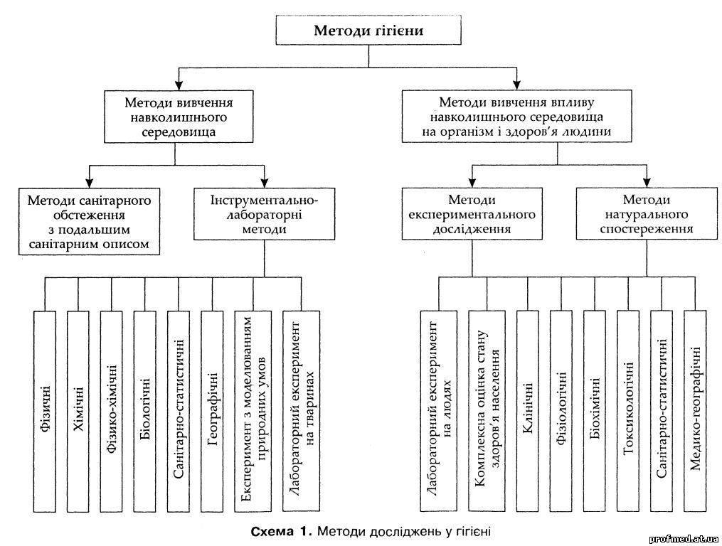 Профілактична медицина - Методи досліджень у гігієні 2b64c2a24bca1